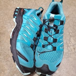 Salomon hiking or running shoes
